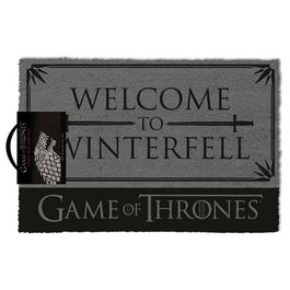 ALFOMBRA JUEGO DE TRONOS WELCOME TO WINTERFELL 40X60 CM