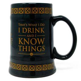 JARRA JUEGO DE TRONOS DRINK & KNOW THINGS