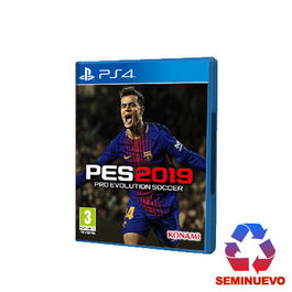 PRO EVOLUTION SOCCER 2019 PS4 (SEMINUEVO)