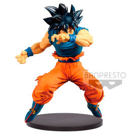 FIGURA DRAGON BALL Z BLOOD OF SAIYANS ULTRA INSTINCT SIGN SON GOKU 16 CM