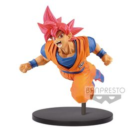 FIGURA DRAGON BALL SUPER SON GOKU FES VOL.9 SUPER SAIYAN GOD SON GOKU 16 CM