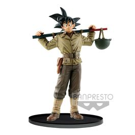 FIGURA DRAGON BALL Z  BWFC SON GOKU NORMAL COLOR VER. 18 CM