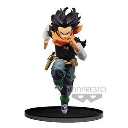 FIGURA DRAGON BALL Z BWFC ANDROID 17 NORMAL COLOR VER. 17 CM