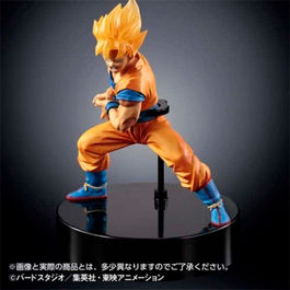 FIGURA DRAGON BALL Z SUPER SAIYAN SON GOKU CON LUZ