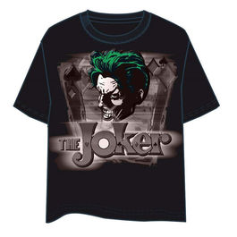 CAMISETA DC COMICS THE JOKER OFICIAL