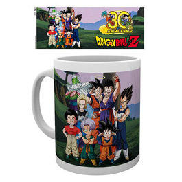 TAZA DRAGON BALL Z 30TH ANIVERSARY