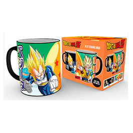 TAZA SENSIBLE AL CALOR DRAGON BALL SAIYANS
