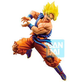 FIGURA DRAGON BALL SUPER Z-BATTLE SUPER SAIYAN SON GOKU 16 CM