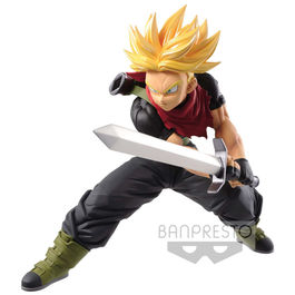 FIGURA SUPER DRAGON BALL HEROES TRANSCENDENCE ART SUPER SAIYAN TRUNKS FUTURE 14 CM