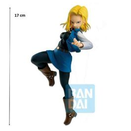FIGURA DRAGON BALL Z THE ANDROID BATTLE ANDROID 18 17 CM