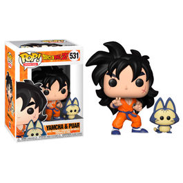 FIGURA POP DRAGON BALL Z YAMCHA & PUAR 9 CM