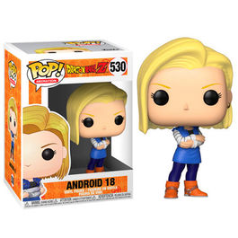 FIGURA POP DRAGON BALL Z ANDROID 18 9 CM