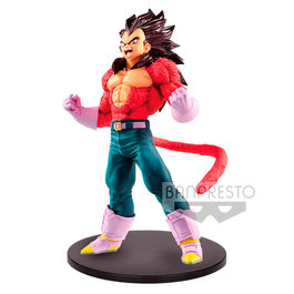 FIGURA DRAGON BALL GT BLOOD OF SAIYANS SUPER SAIYAN 4 VEGETA METALLIC HAIR COLOR 20 CM