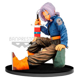 FIGURA DRAGON BALL Z BWFC TRUNKS NORMAL COLOR VER. 13 CM