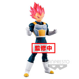 FIGURA DRAGON BALL SUPER CYOKUKU BUYUDEN SUPER SAIYAN GOD VEGETA 22 CM