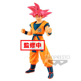 FIGURA DRAGON BALL SUPER CYOKUKU BUYUDEN SUPER SAIYAN GOD SON GOKU 22 CM