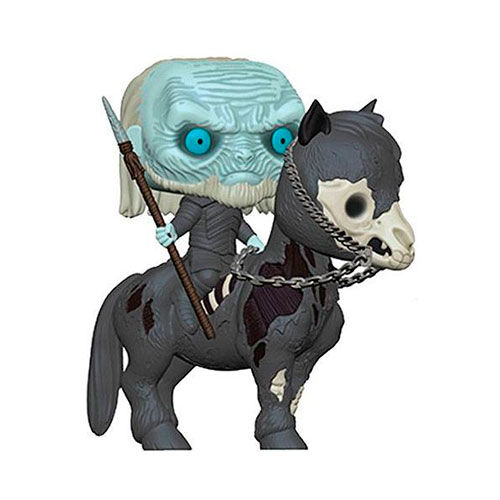 FIGURA POP JUEGO DE TRONOS WHITE WALKER ON HORSE 15 CM