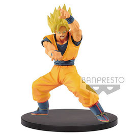 FIGURA DRAGON BALL SUPER CHOSENSHIRETSUDEN SUPER SAIYAN GOKU 16 CM