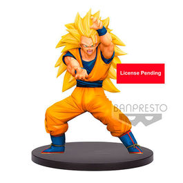 FIGURA DRAGON BALL SUPER CHOSENSHIRETSUDEN VOL.4 SUPER SAIYAN 3 SON GOKU 16 CM