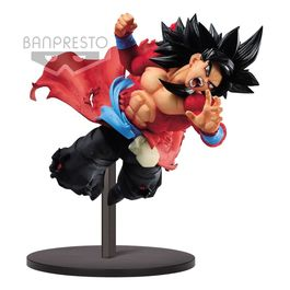 FIGURA DRAGON BALL HEROES SUPER SAIYAN 4 SON GOKU XENO 9TH ANNIVERSARY 14 CM