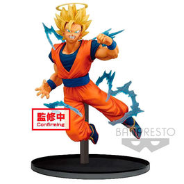FIGURA DRAGON BALL Z DOKKAN BATTLE SUPER SAIYAN 2 GOKU (ANGEL) 15 CM