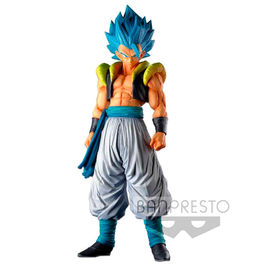 FIGURA DRAGON BALL SUPER MASTER STAR PIECE SUPER SAIYAN BLUE GOGETA 34 CM