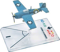 WINGS OF WAR MINIATURES GRUMMANN F4 F-4 WILDCAT (MC WORTHER) WWII SERIE 1
