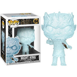 FIGURA POP JUEGO DE TRONOS CRYSTAL NIGHT KING WITH DAGGER IN CHEST 9 CM