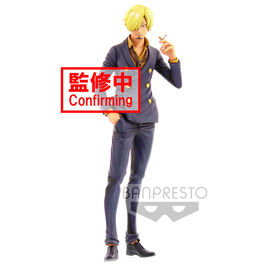 FIGURA ONE PIECE GRANDISTA SANJI MANGA DIMENSION 27 CM