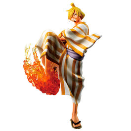 FIGURA ONE PIECE BANPRESTO ICHIBANSHO SANGORO FULL FORCE 20 CM