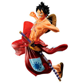 FIGURA ONE PIECE BANPRESTO ICHIBANSHO LUFFYTARO FULL FORCE 13 CM