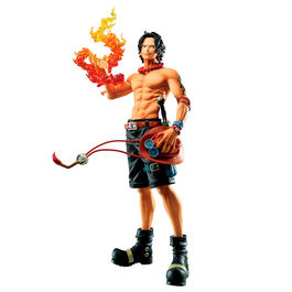 FIGURA ONE PIECE BANPRESTO ICHIBANSHO TREASURE CRUISE PORTGAS D. ACE 20 CM