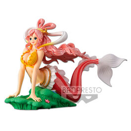 FIGURA ONE PIECE GLITTER AND GLAMOURS PRINCESS SHIRAHOSHI 15 CM