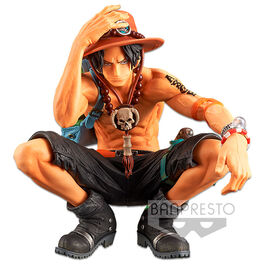 FIGURA ONE PIECE KING OF ARTIST PORTGAS D. ACE 13 CM