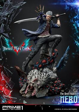 ESTATUA PRIME 1 STUDIO DEVIL MAY CRY 5 NERO 70 CM