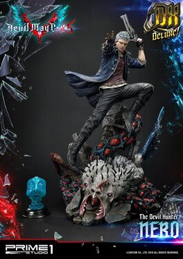 ESTATUA PRIME 1 STUDIO DEVIL MAY CRY 5 NERO DELUXE VERSION 70 CM