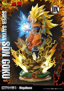 ESTATUA PRIME 1 STUDIO DRAGON BALL Z SUPER SAIYAN SON GOKU DELUXE VERSION 64 CM
