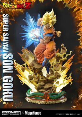 ESTATUA PRIME 1 STUDIO DRAGON BALL Z SUPER SAIYAN SON GOKU 64 CM