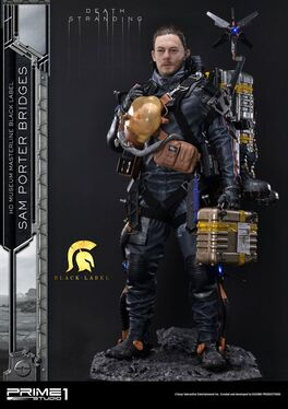 ESTATUA PRIME 1 STUDIO DEATH STRANDING SAM PORTER BRIDGES BLACK LABEL 106 CM