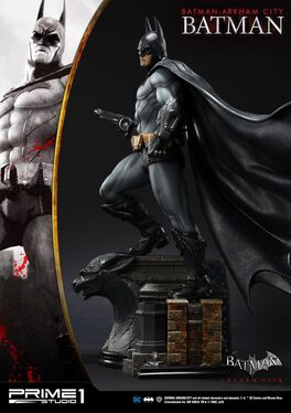 ESTATUA PRIME 1 STUDIO BATMAN ARKHAM CITY BATMAN 55 CM