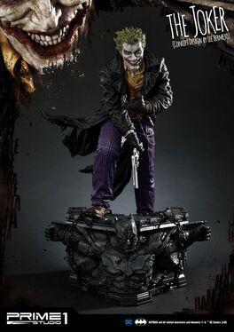 ESTATUA PRIME 1 STUDIO DC COMICS THE JOKER BY LEE BERMEJO 71 CM