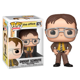 FIGURA POP THE OFFICE DWIGHT SCHRUTE 9 CM
