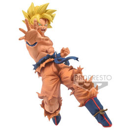 FIGURA DRAGON BALL GOKU SUPER SAIYAN DRAWN BY TOYOTARO 13 CM