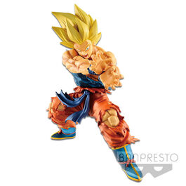 FIGURA DRAGON BALL LEGENDS SON GOKU SUPER SAIYAN KAMEHAMEHA 17 CM