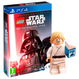 LEGO STAR WARS LA SAGA SKYWALKER DELUXE EDITION PS4