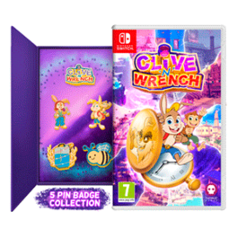 CLIVE 'N' WRENCH PIN BADGES EDITION SWITCH