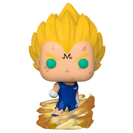 FIGURA POP DRAGON BALL SUPER SAIYAN MAJIN VEGETA POWER 9 CM