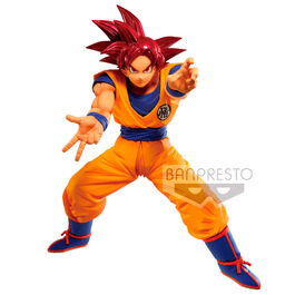 FIGURA DRAGON BALL MAXIMATIC SON GOKU SUPER SAIYAN GOD 25 CM