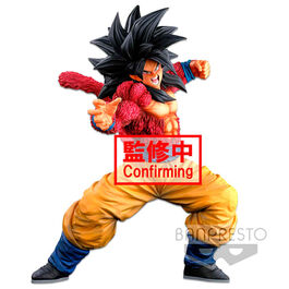 FIGURA DRAGON BALL SUPER SAIYAN 4 SON GOKU WORLD COLOSSEUM SUPER MASTER STRAS 25 CM