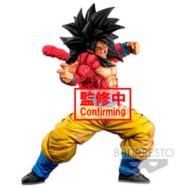 FIGURA DRAGON BALL SUPER SAIYAN 4 SON GOKU 2 DIMENSIONS WORLD COLOSSEUM SUPER MASTER STARS 25 CM